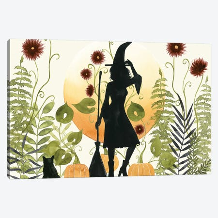 The Witch's Garden II Canvas Print #POP1841} by Grace Popp Canvas Print