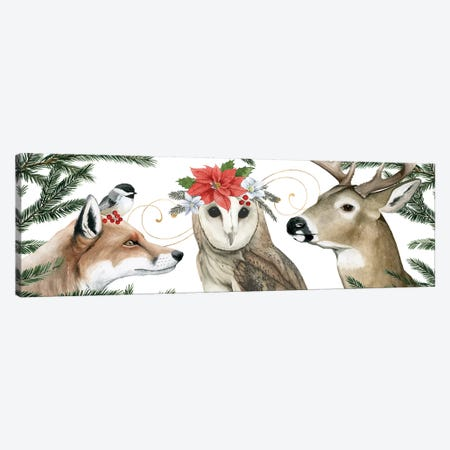 Timberland Christmas Collection D Canvas Print #POP1845} by Grace Popp Canvas Wall Art