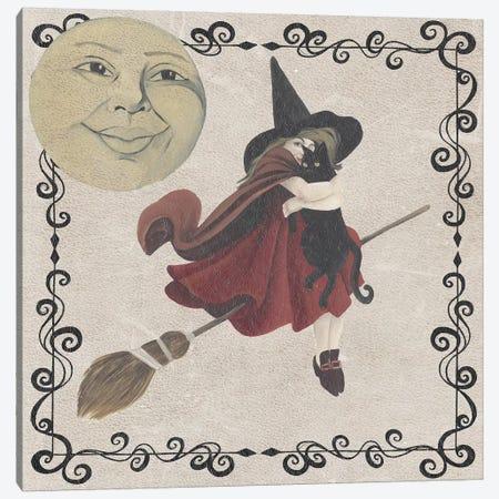 Vintage Halloween Collection G Canvas Print #POP1854} by Grace Popp Art Print