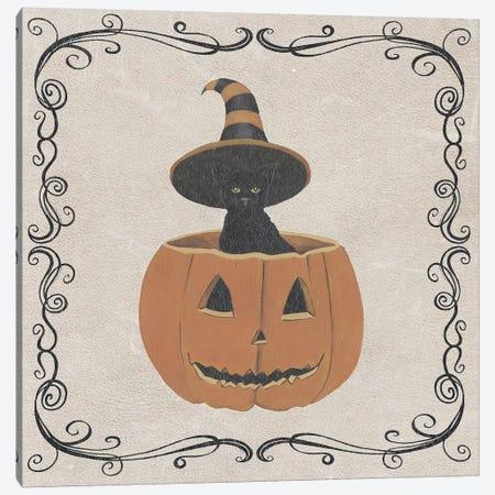 Vintage Halloween Collection H Canvas Print #POP1855} by Grace Popp Canvas Print