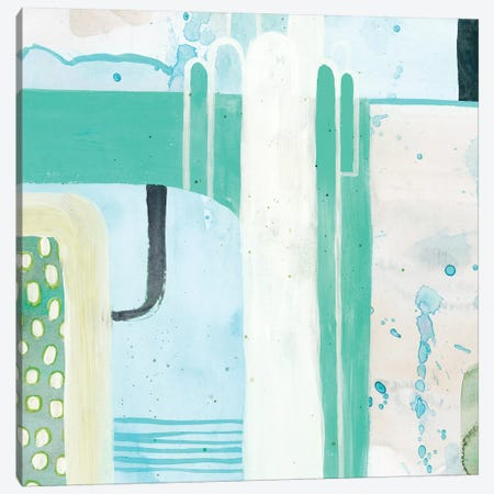 Minted Storm III Canvas Print #POP1904} by Grace Popp Canvas Art Print