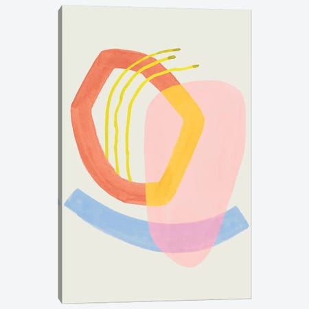 Mod Stitch I Canvas Print #POP1908} by Grace Popp Canvas Art