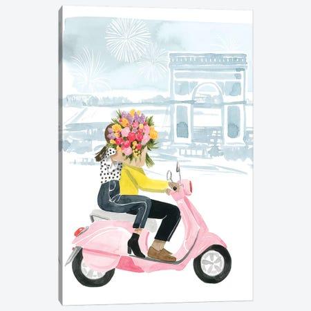 Paris in Love I Canvas Print #POP1913} by Grace Popp Art Print