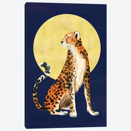 Queen of the Jungle I Canvas Print #POP1927} by Grace Popp Canvas Print