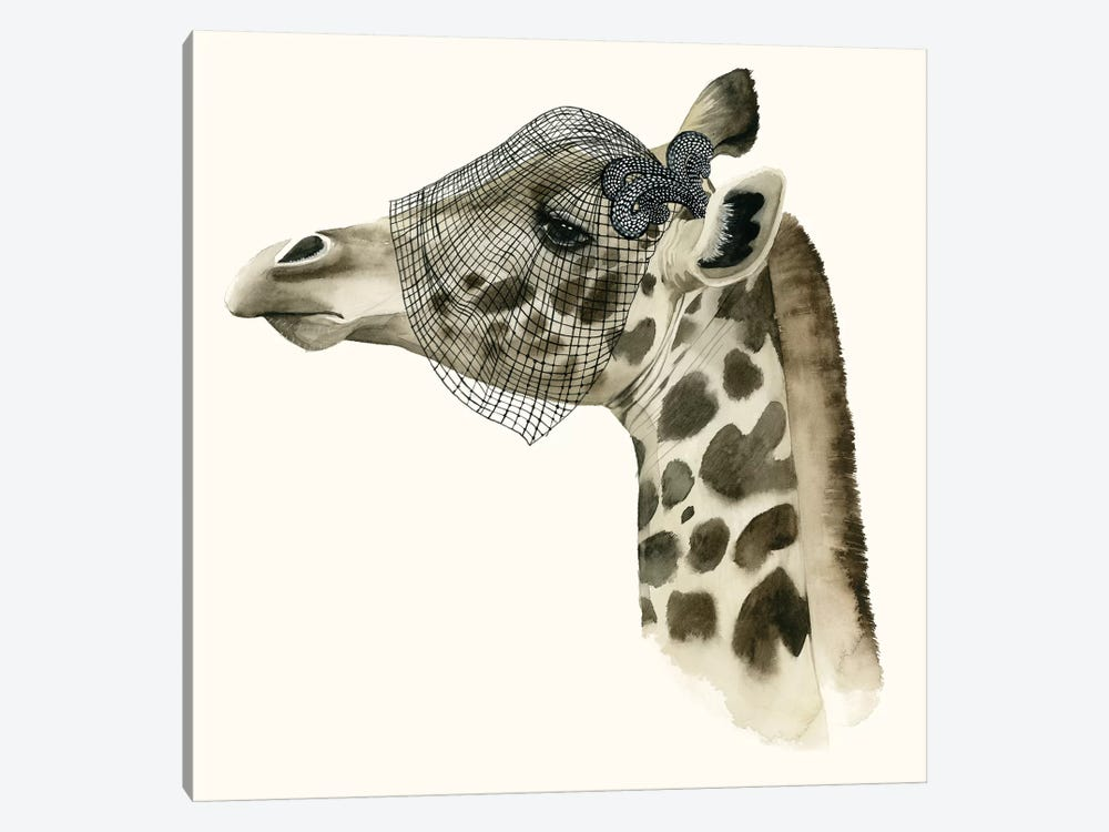 Downton Animals II by Grace Popp 1-piece Canvas Wall Art