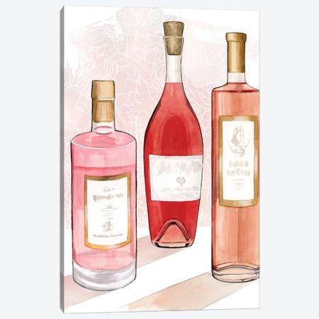 Rosé Summer I Canvas Print #POP1931} by Grace Popp Art Print