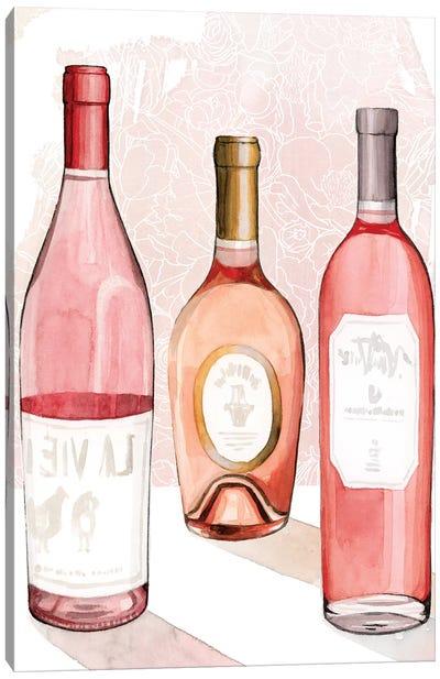 Rosé Summer II Canvas Art Print