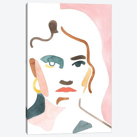 She Shadow I Canvas Print #POP1937} by Grace Popp Canvas Artwork