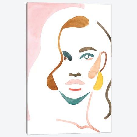 She Shadow II Canvas Print #POP1938} by Grace Popp Art Print