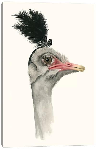 Downton Animals III Canvas Art Print