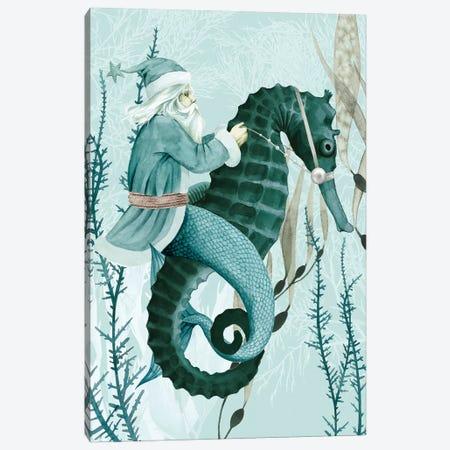 The Sea Santa I Canvas Print #POP1951} by Grace Popp Canvas Art Print