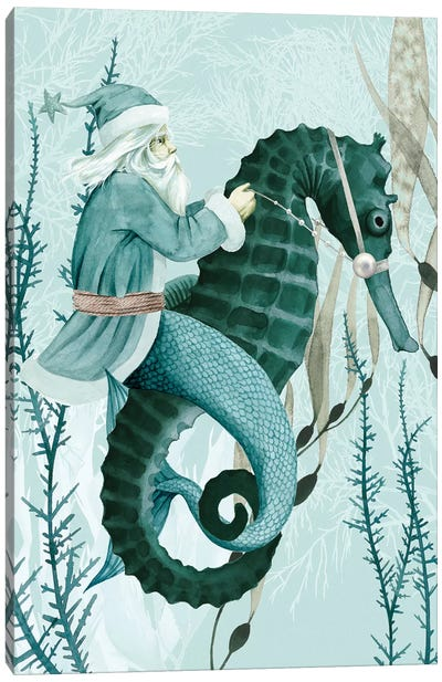 The Sea Santa I Canvas Art Print