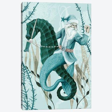 The Sea Santa II Canvas Print #POP1952} by Grace Popp Art Print