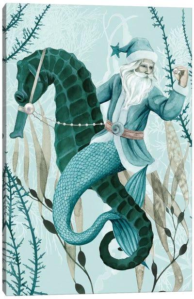 The Sea Santa II Canvas Art Print