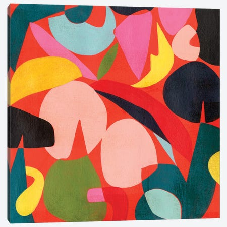 Tomato Prism I Canvas Print #POP1953} by Grace Popp Canvas Print