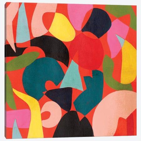 Tomato Prism II Canvas Print #POP1954} by Grace Popp Canvas Art