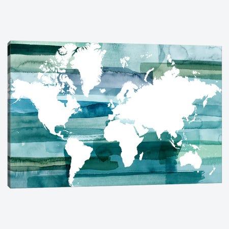 All Oceans Canvas Print #POP1963} by Grace Popp Canvas Wall Art