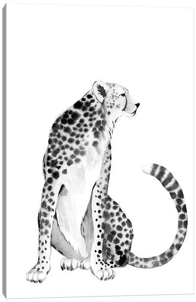 Chrome Cheetah I Canvas Art Print