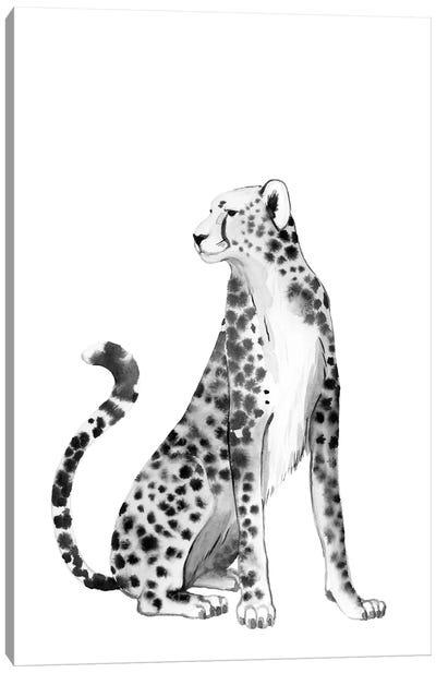 Chrome Cheetah II Canvas Art Print