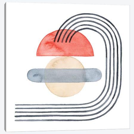 Deco Sunrise I Canvas Print #POP1985} by Grace Popp Art Print
