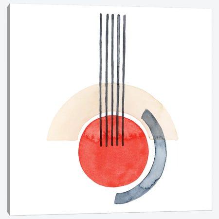 Deco Sunrise III Canvas Print #POP1987} by Grace Popp Canvas Art Print