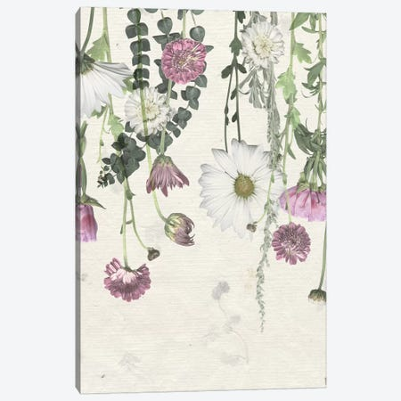 Flower Veil I Canvas Print #POP1996} by Grace Popp Canvas Wall Art