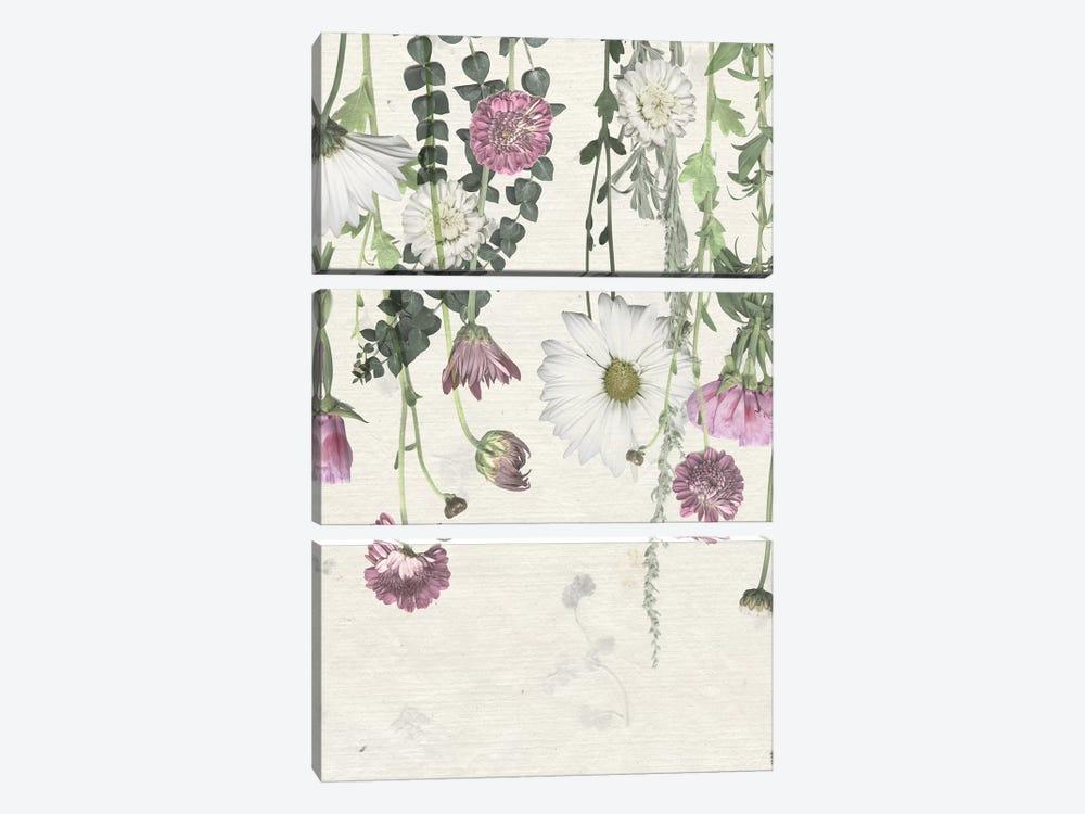 Flower Veil I by Grace Popp 3-piece Canvas Wall Art