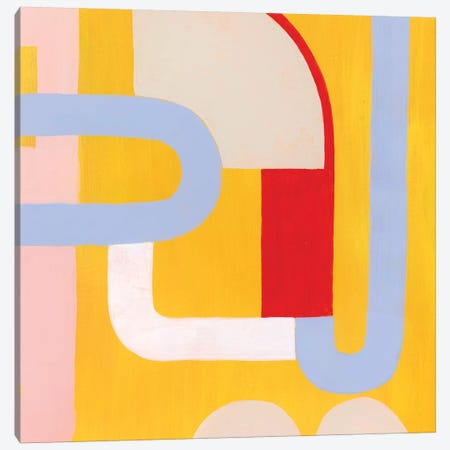 Getting Along III Canvas Print #POP2000} by Grace Popp Canvas Print