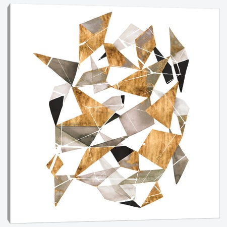 Gilded Chrysalis I Canvas Print #POP2004} by Grace Popp Canvas Artwork