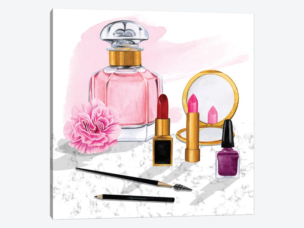 Makeup Counter I 1-piece Canvas Art Print