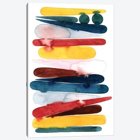 Rainbow Strata II Canvas Print #POP2027} by Grace Popp Canvas Artwork