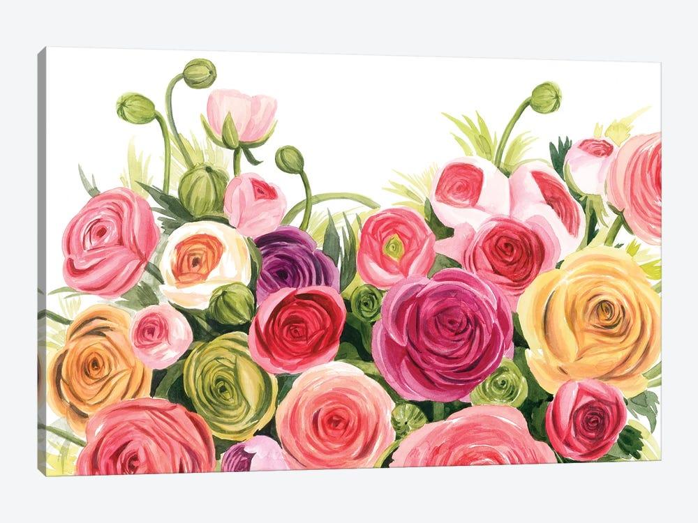 Ranunculus Panorama by Grace Popp 1-piece Art Print