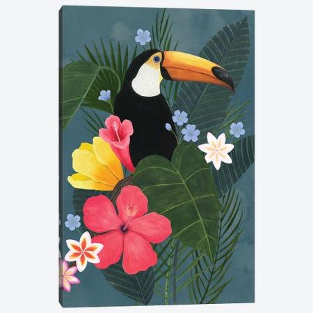 Tropical Wilderness I Canvas Print #POP2037} by Grace Popp Canvas Print
