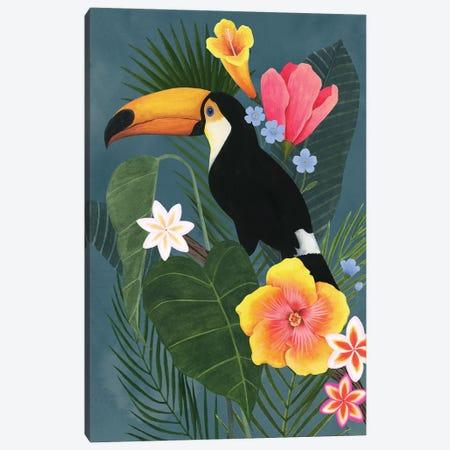 Tropical Wilderness II Canvas Print #POP2038} by Grace Popp Canvas Artwork