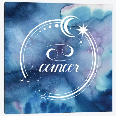 Watercolor Astrology IV 3-Piece Canvas #POP2044} by Grace Popp Canvas Art