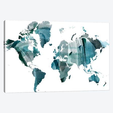 World Wash Canvas Print #POP2055} by Grace Popp Canvas Art Print