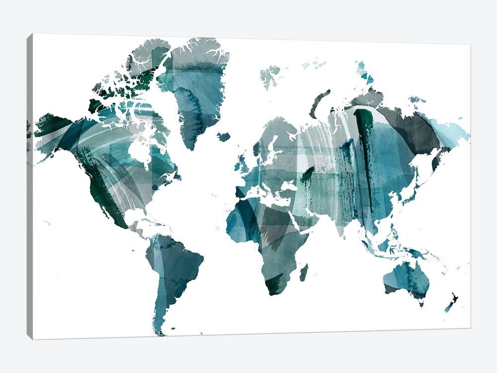 World Wash by Grace Popp 1-piece Canvas Art Print