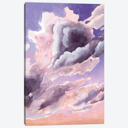 Amethyst Cumulus II Canvas Print #POP2057} by Grace Popp Canvas Print