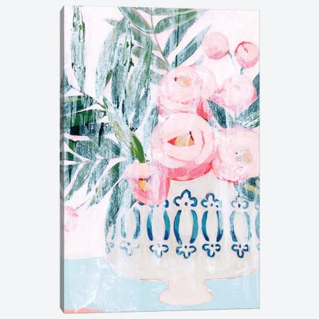 Bleached Bouquet II Canvas Print #POP2063} by Grace Popp Canvas Print