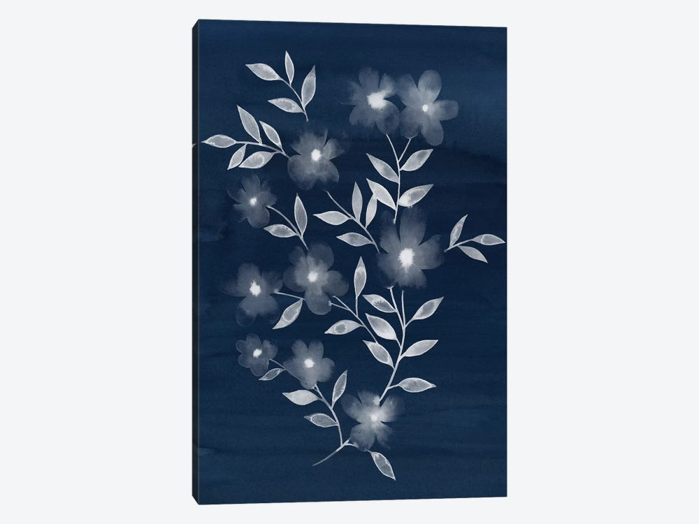 Flower Cyanotype II by Grace Popp 1-piece Art Print