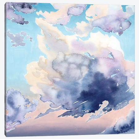 Covered Clouds I Canvas Print #POP2072} by Grace Popp Canvas Art