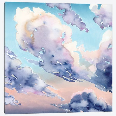 Covered Clouds II Canvas Print #POP2073} by Grace Popp Canvas Wall Art
