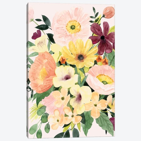 Floralist I Canvas Print #POP2084} by Grace Popp Canvas Art