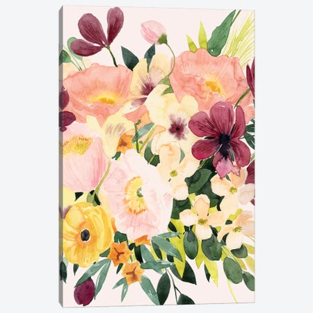 Floralist II Canvas Print #POP2085} by Grace Popp Canvas Wall Art