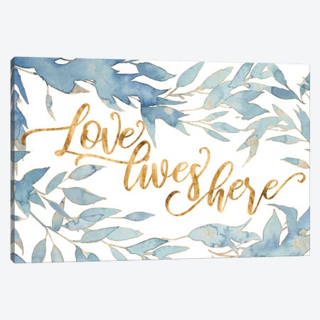 Glam Love I Canvas Print #POP2086} by Grace Popp Canvas Art