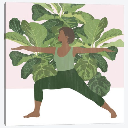 Namaste Home II Canvas Print #POP2101} by Grace Popp Canvas Artwork