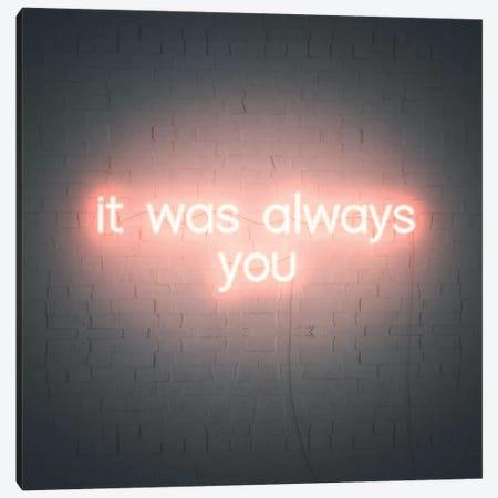 Neon Love III Canvas Print #POP2109} by Grace Popp Canvas Art