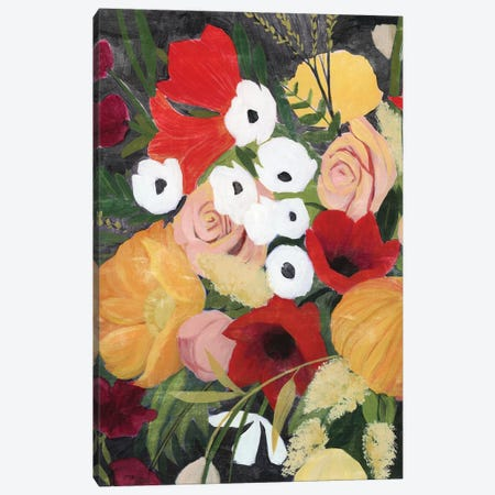 November Bouquet I Canvas Print #POP2111} by Grace Popp Canvas Art Print