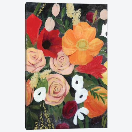November Bouquet II Canvas Print #POP2112} by Grace Popp Art Print