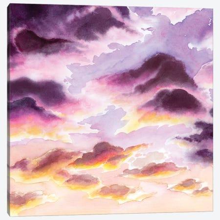 Sunset Haze I Canvas Print #POP2119} by Grace Popp Canvas Art Print